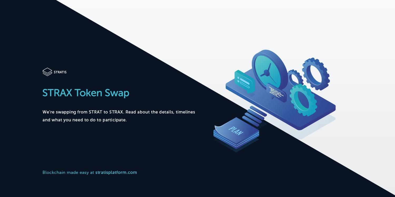 Strax Token Swap Stratis Platform