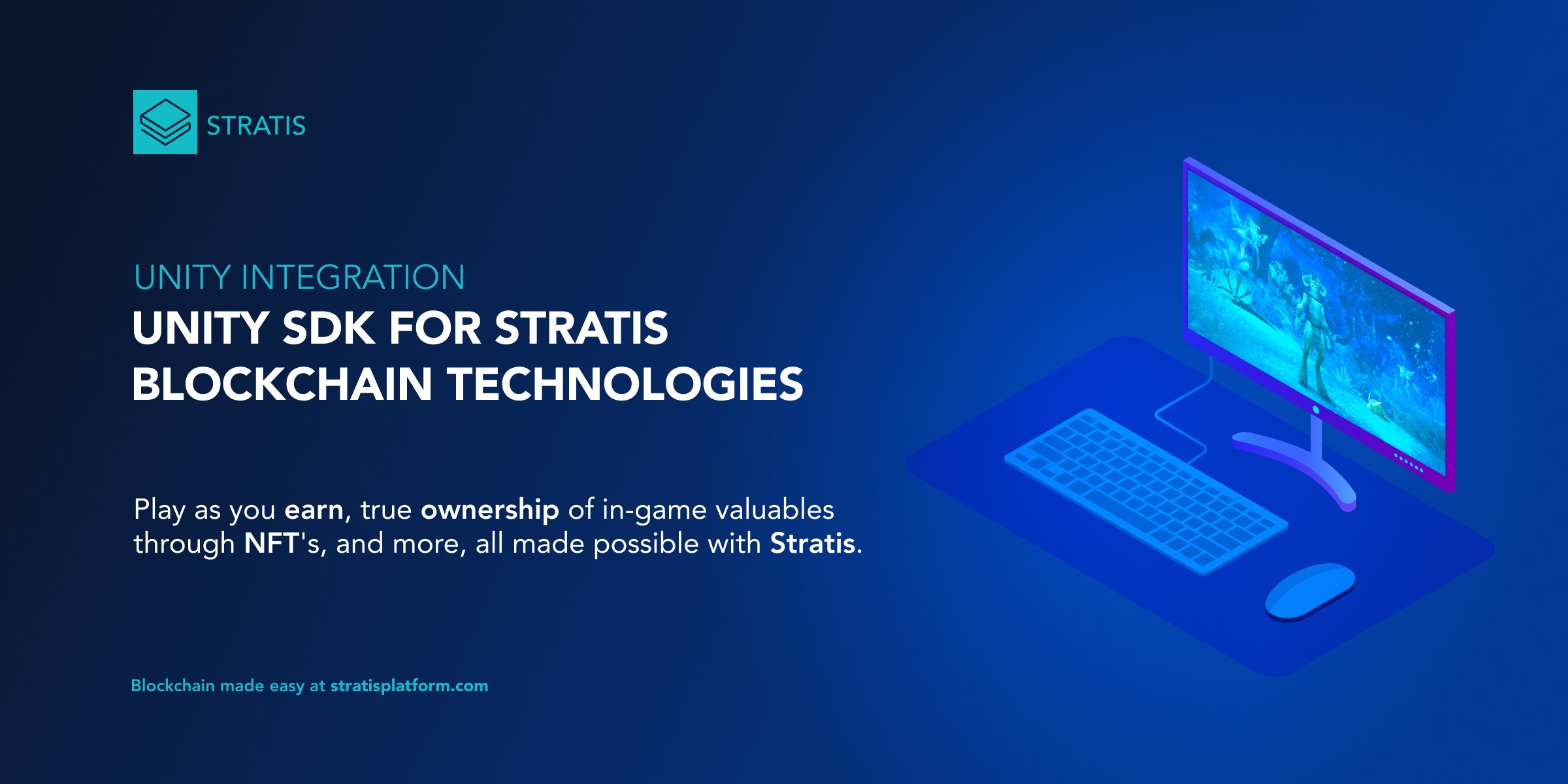 Unity SDK brings Stratis Smart Contracts to games