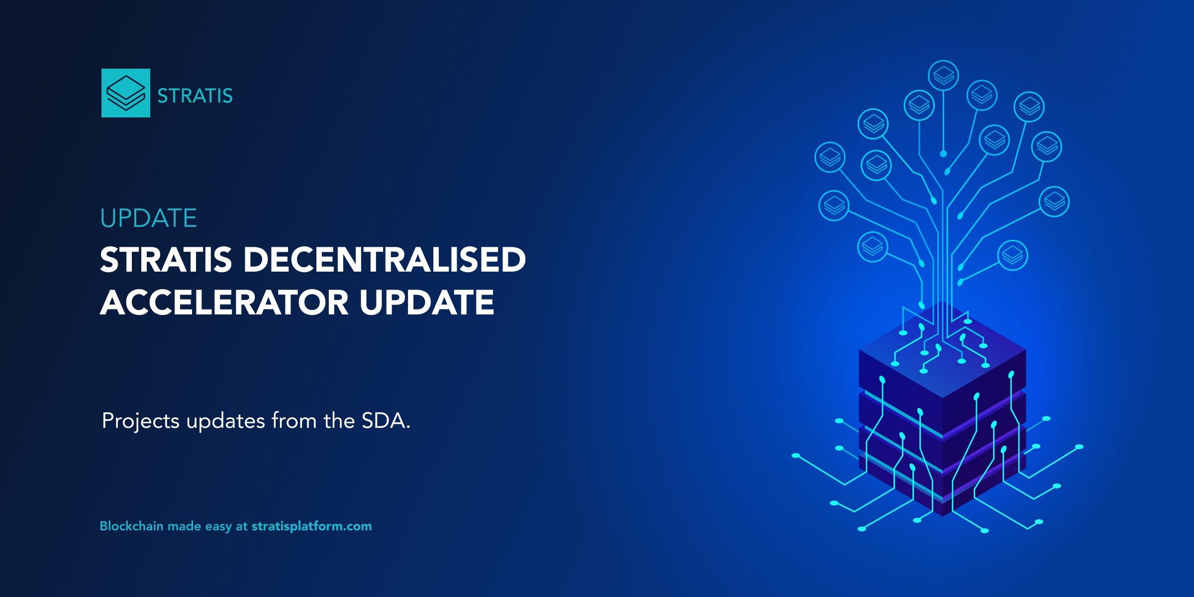 SDA Update #1